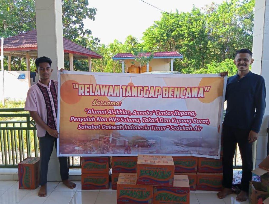 Air Bersih Untuk Korban Bencana Di Kupang, Kelurahan Kayu Putih Kecamatan Oebobo Kupang