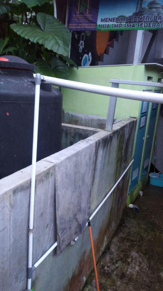 Wakaf Air Desa Sukaresmi Kec. Tamansari