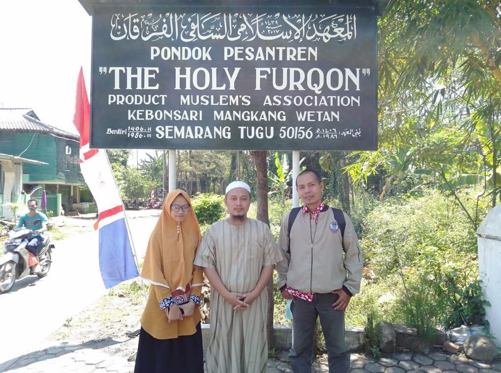 Wakaf Air Pesantren di Desa Mangkang Wetan Kec. Tugu Semarang