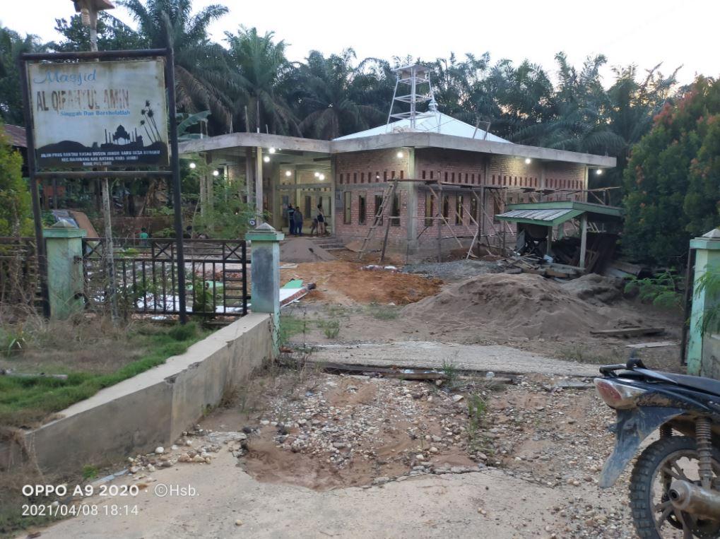 Wakaf Air Tempat Ibadah Desa Bungku Kec. Bajubang