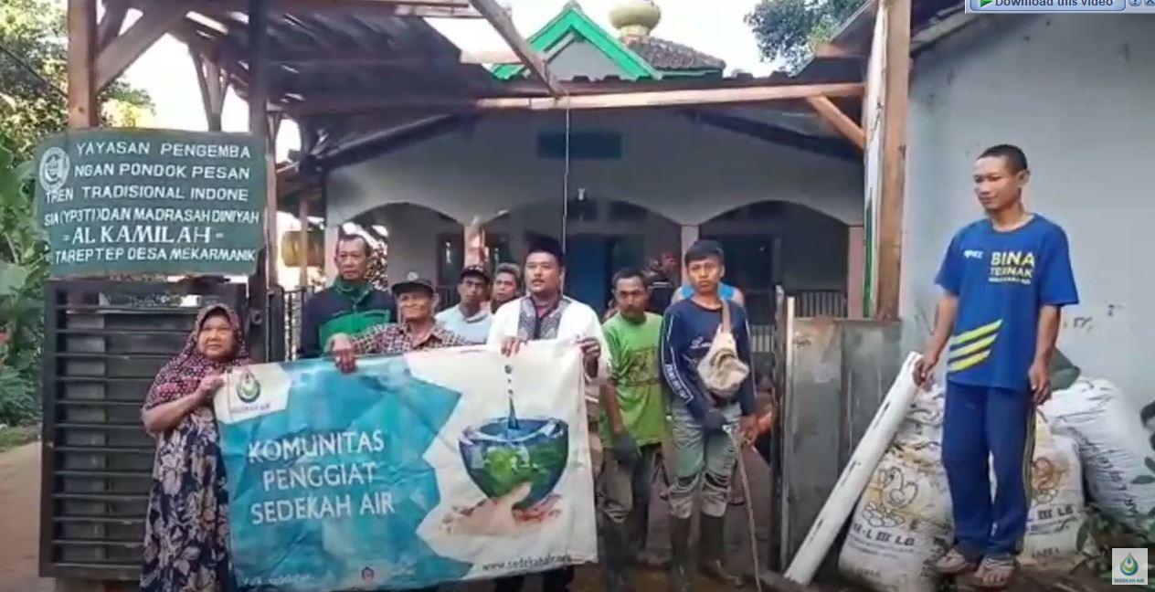 Wakaf Sumur Untuk Kampung Tareptep, Bandung