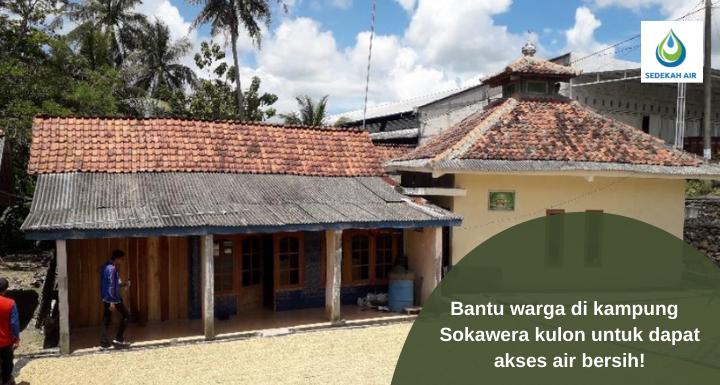 Sedekah air untuk Mushola Tarbiyatul Athfal Dusun Sokawera Kulon Kawunganten Cilacap