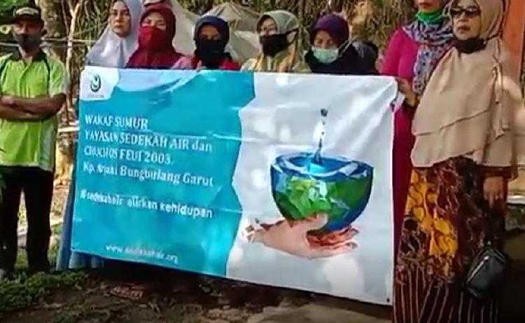 Wakaf Sumur Untuk Masjid Dan Warga Di Kp. Puncak Arjani Desa Bungbulang, Kecamatan Bungbulang Garut