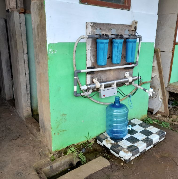 Wakaf Air Untuk Pesantren di Kp. Arjasari Ds. Arjasari, Kec. Leuwisari, Tasikmalaya