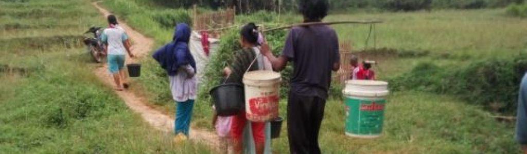 Wakaf Air Pesantren Untuk Warga & Tempat Ibadah di Kp. Cilampahan (Cigalumpit), Ds. Sukajaya, Kec. Sukatani, Purwakarta