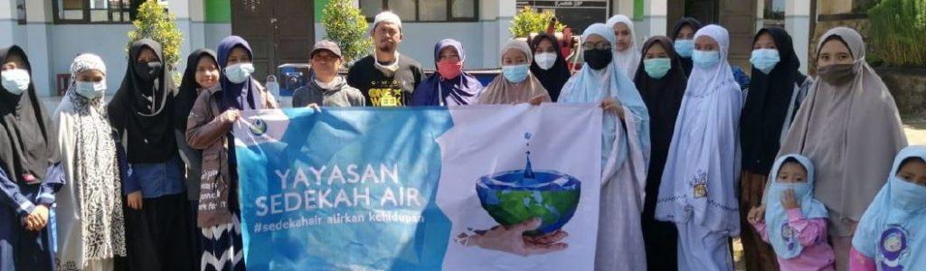 Wakaf Sumur Untuk Pondok Pesantren Dairobby Sukasari Sumedang